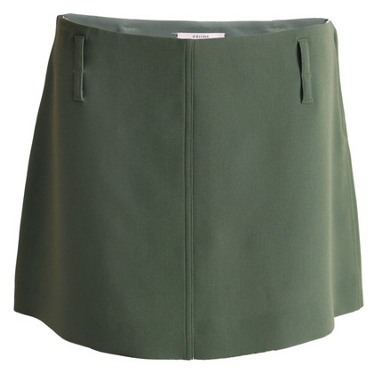 Céline skirt in olive green