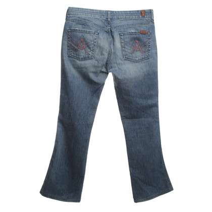 7 For All Mankind Jeans in Blau