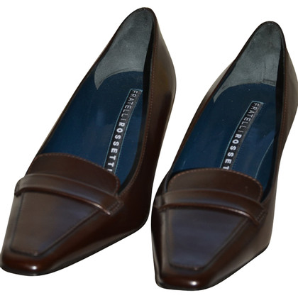 Fratelli Rossetti leather pumps