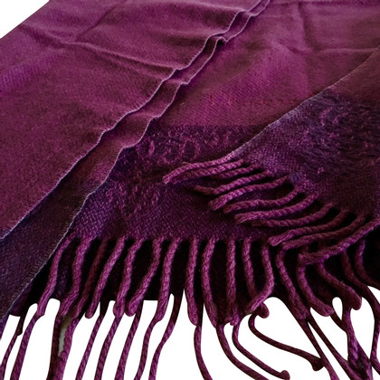 Christian Dior wool shawl