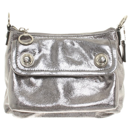 Coach Silver colored shoulder bag