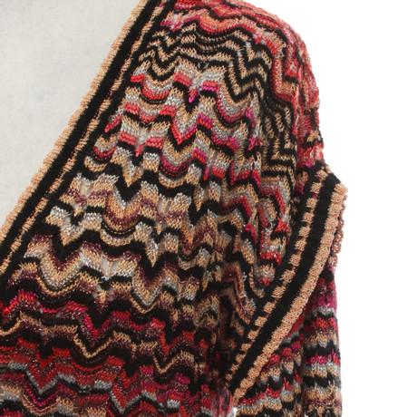 Missoni Strickjacke in Multicolor Bunt / Muster Günstig Kaufen Rabatt hVJW9UEIv