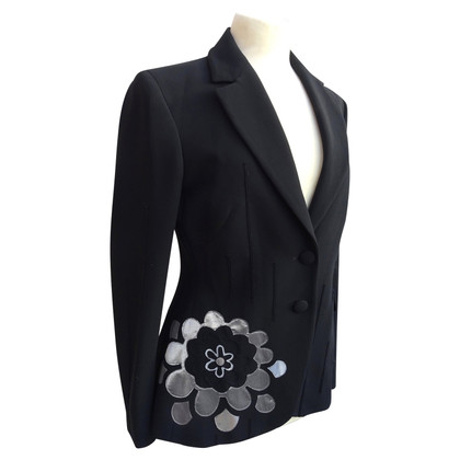Moschino Blazer met applicatie