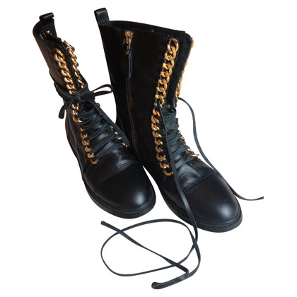 Casadei Biker boots lace-up