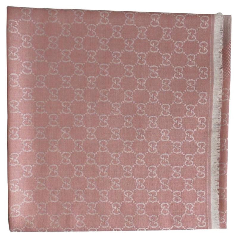 foulard gucci rosa