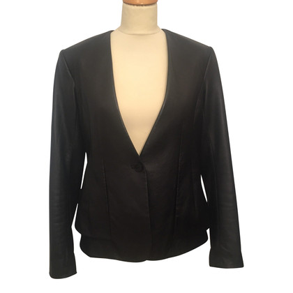 Theory Blazer in pelle