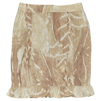 Max Mara skirt with wash-out effect