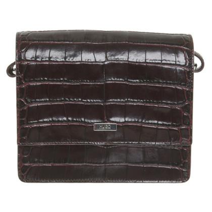 Hugo Boss Shoulder bag in dark brown