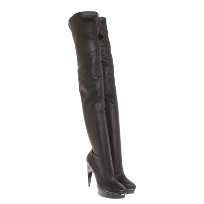 Lanvin Overknee boots in black