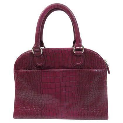 Aigner Bag in crocodile look