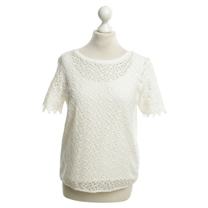 Laurèl Lace Top in White