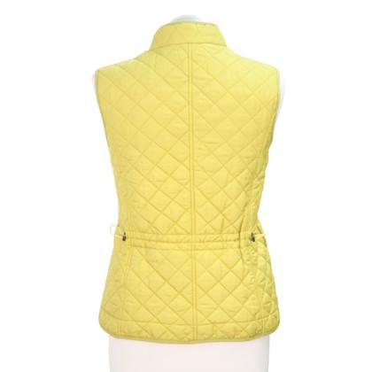 Hobbs Vest in mustard yellow