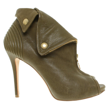 Alexander McQueen Ankle boots in green