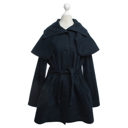 Minimarket Trenchcoat in dark blue