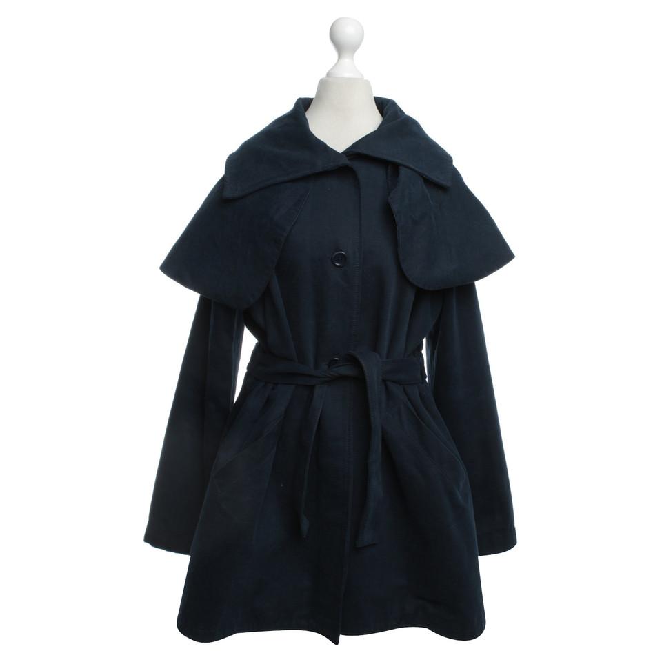 Minimarket Trenchcoat in dark blue