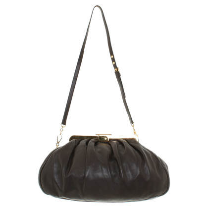 "Miu Miu ""Harlequin Bag"" in brown"