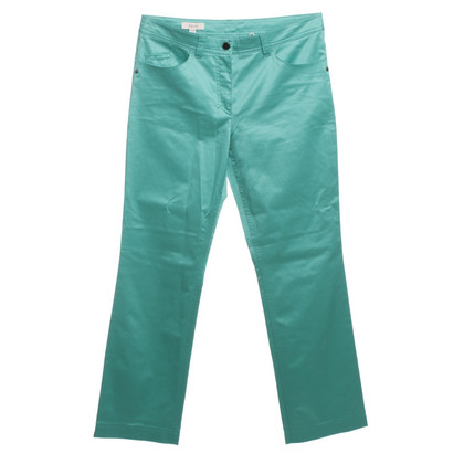Laurèl Pants in shimmering turquoise