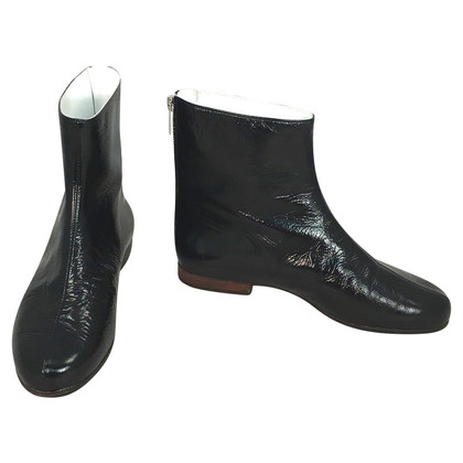 Courrèges Lackleder-Boots
