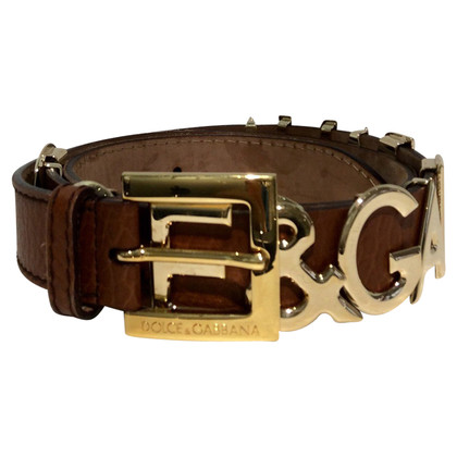 Dolce & Gabbana Belt with logo letters