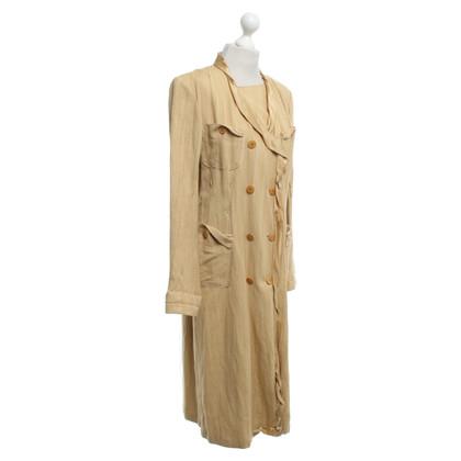 Donna Karan Silk / linen coat