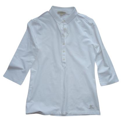 Burberry Poloshirt in Weiß