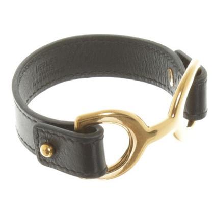 Hermès Armband in Schwarz