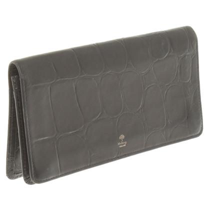 Mulberry Brieftasche in Schwarz