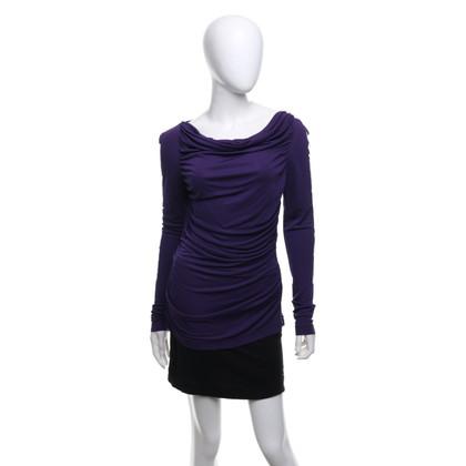L.K. Bennett top in purple
