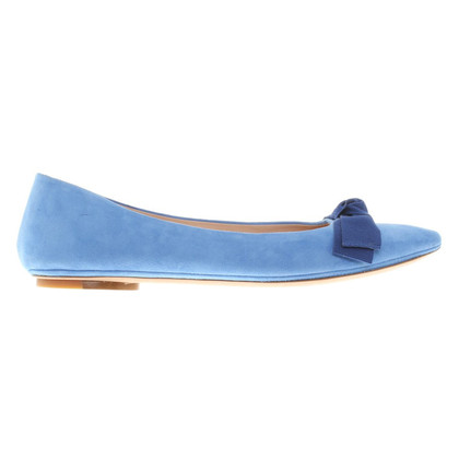 Unützer Leather ballerinas in light blue