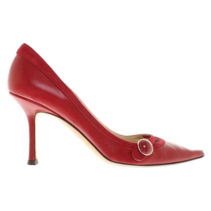 Jimmy Choo pumps in red