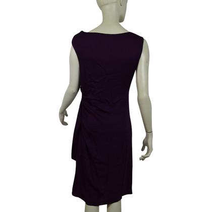 Diane von Furstenberg Seidenkleid in Violett
