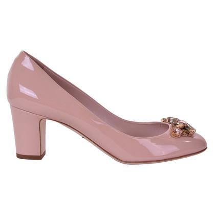 Dolce & Gabbana pumps pelle verniciata