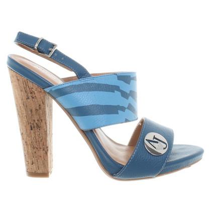 Armani Jeans Sandaletten in Blau