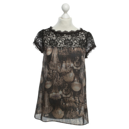 Ted Baker Lace top with print