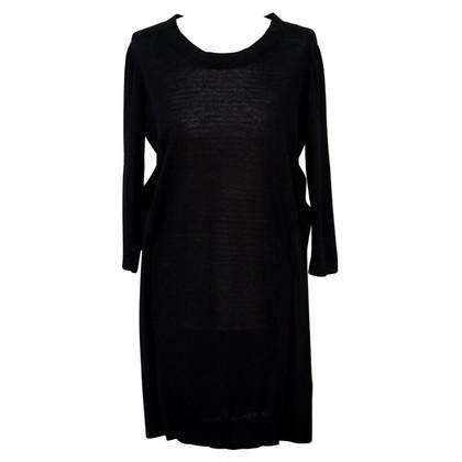 Cos Robe en maille en noir
