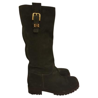 Dolce & Gabbana Wildleder-Stiefel