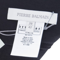 Pierre Balmain Jerseyrock mit Nieten