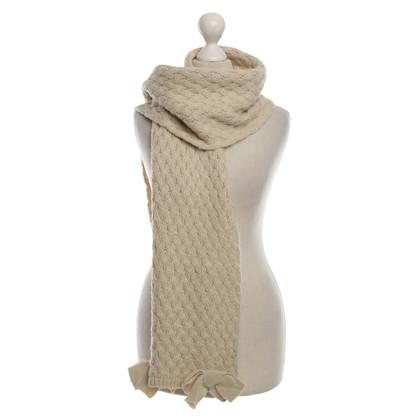 Twin-Set Simona Barbieri Wool scarf with details