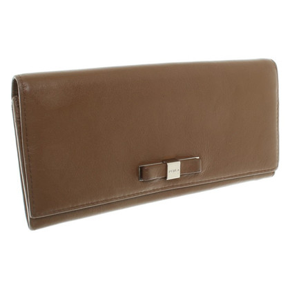 Furla Brown wallet made of leather