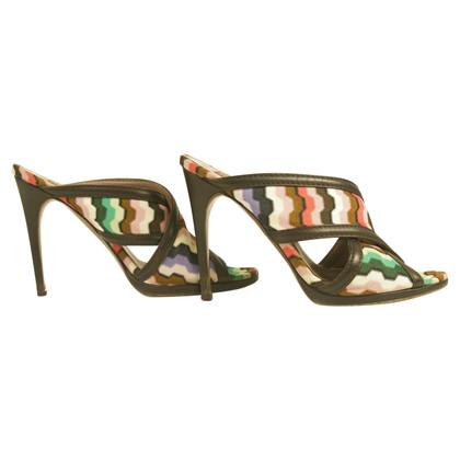Missoni Multicolored heels