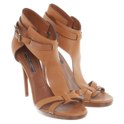 Ralph Lauren Leather sandals in Brown