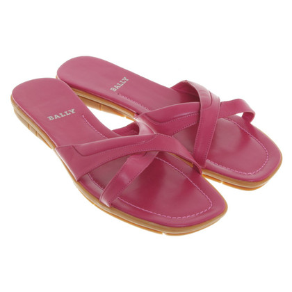 Bally Mules in Pink