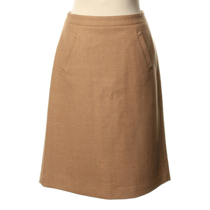 J. Crew Gonna in lana beige