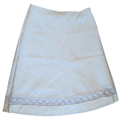Christian Lacroix White skirt