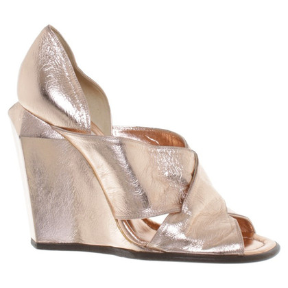 Marc Jacobs Wedges in rose gold