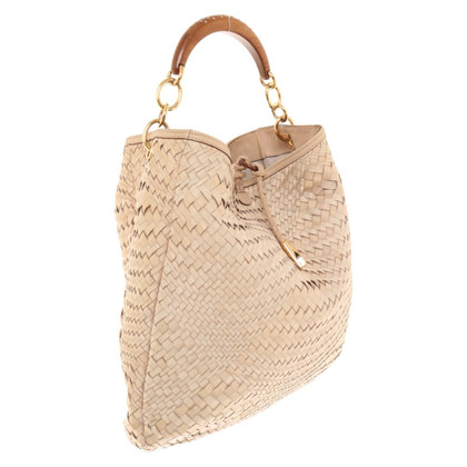 Salvatore Ferragamo Shopper in beige