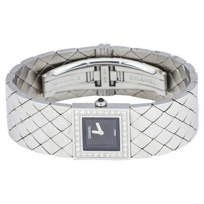 "Chanel ""Matelassé Diamond Watch"""