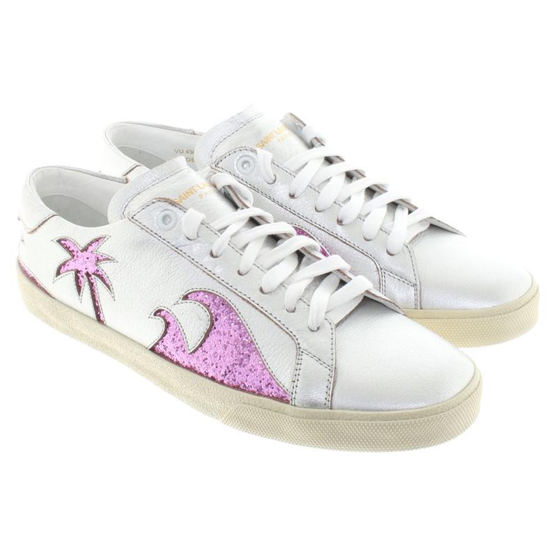 Seconda mano - Sneakers Con paillette Saint Laurent Zixt7d7
