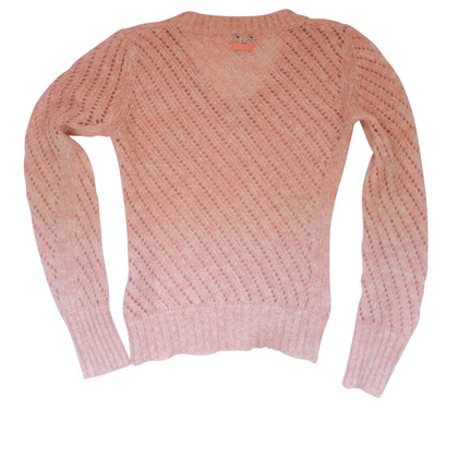 Dolce & Gabbana Coarse-knitted sweater Rosé