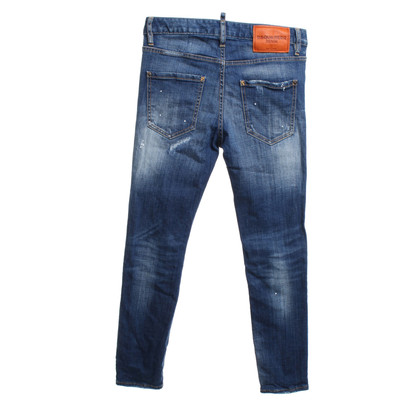 Dsquared2 Destroyed jeans in blue